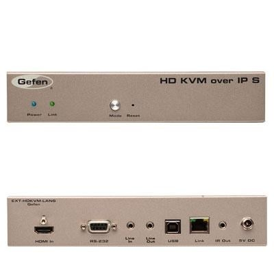 Gefen Ext-Hdkvm-Lantx Gefen Hd Kvm Over Ip - 330 Ft Range - 1 X Network  (Rj-45) - 1 X Usb - 1 X Hdmi - Rack-Mountable