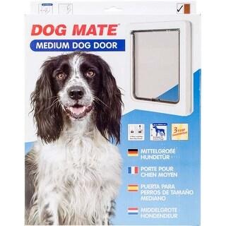 White - Dog Mate Medium Dog Door