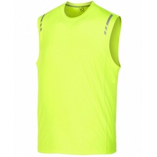 Ideology NEW Yellow Mens Size 2XL Performance Sleeveless Shirts & Tops