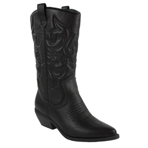 Soda Womens Reno Fashion Boots