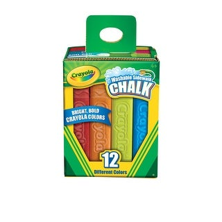 Crayola Sidewalk Chalk, Set of 12