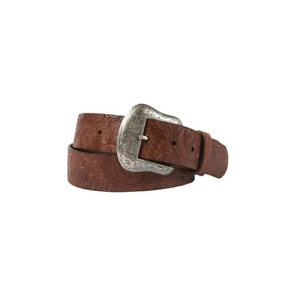 Noble Outfitters Western Belt Womens Leather Antique Brown