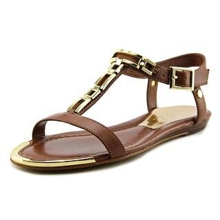Marc Fisher Maribell Women Open-Toe Synthetic Brown Slingback Sandal
