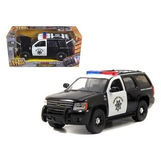 2010 Chevrolet Tahoe Highway Patrol 1/24 Diecast Car Model by Jada