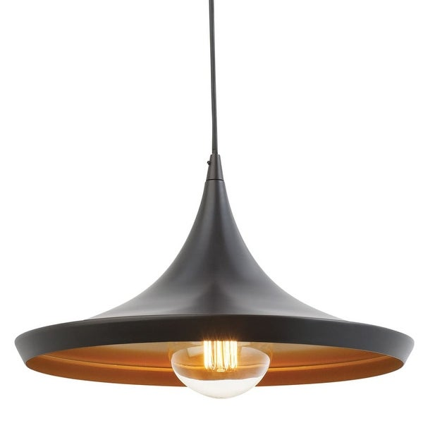 "Globe Electric 63872 1-Light Adjustable 72"" Tall Pendant - Oil Rubbed bronze"