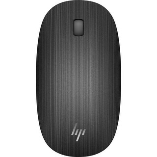 HP Spectre 510 3-Button Wireless Bluetooth Optical Scroll Mouse w/1600 dpi (Black)
