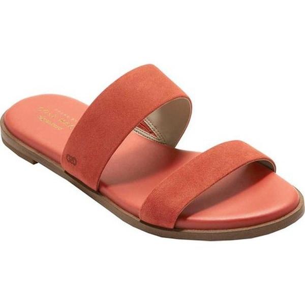 c9b7597e5893 Shop Cole Haan Women s Findra II Slide Sandal Cinnabar Suede - Free ...