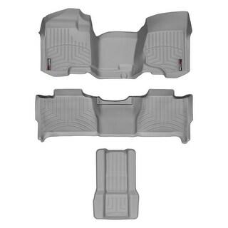 WeatherTech Chevrolet Tahoe 2007-2013 Grey Floor Mats FloorLiner All Rows 462941 46066 2 7