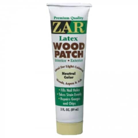 ZAR 30941 Interior/Exterior Latex Wood Patch, Neutral, 3 Oz