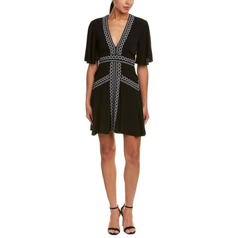 Nicole Miller Silk Shift Dress