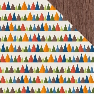 """The Great Outdoors Camping Double-Sided Cardstock 12""""X12""""-Into The Woods"""
