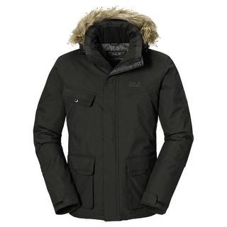Jack Wolfskin Nova Scotia Jacket Mens - Burnt Olive