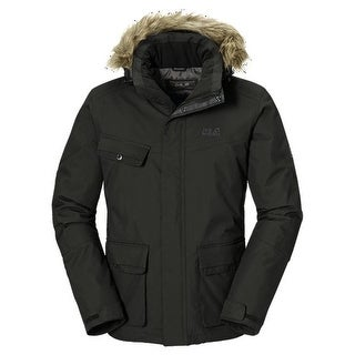 Jack Wolfskin Nova Scotia Jacket Mens - Burnt Olive