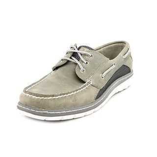 Sperry Top Sider Billfish Ultralite 3-Eye Men Moc Toe Leather Gray Boat Shoe