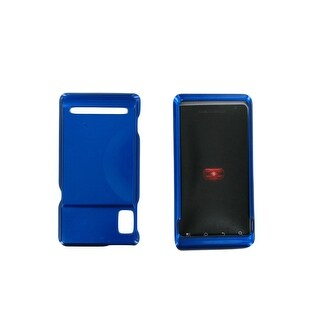 Verizon Snap-On Hard Cover for Motorola Droid 2 (Blue)