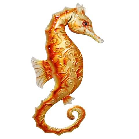 Wall Seahorse Orange - 1 x 6 x 12