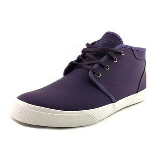 DC Shoes Studio Mid Le Men Round Toe Leather Skate Shoe