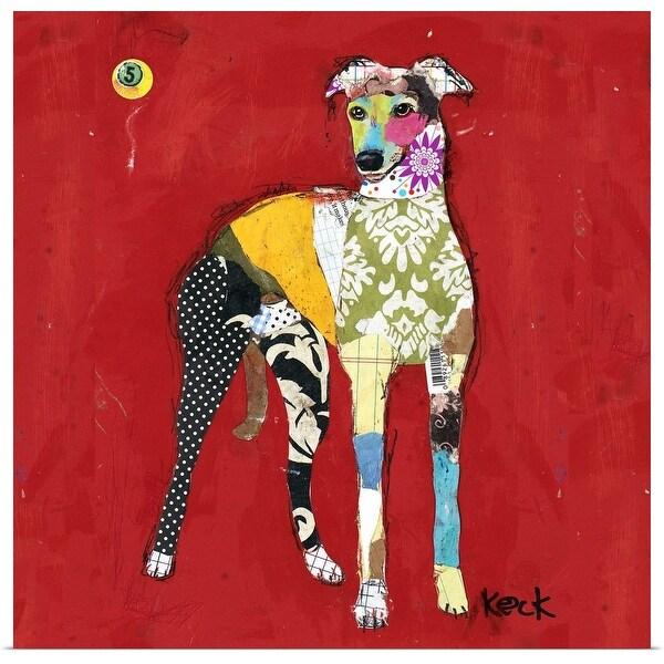 """Greyhound II - Square"" Poster Print"