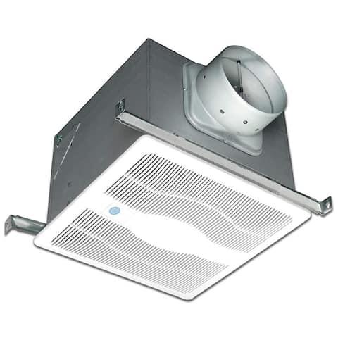 Air King EVDG 130 CFM 0.6 Sone Ceiling Mounted Variable Speed Motion Sensing Energy Star Rated Exhaust Fan