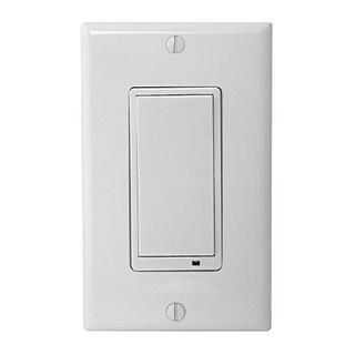 Linear LINWS15Z2W Linear Ws15z-2 Z-wave 15-amp Wall Switch