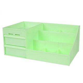 Drawer Type Organizer Cosmetic Storage Box 3014 S Green