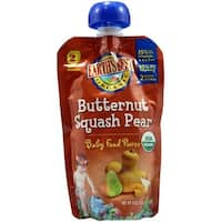Earth's Best - Organic Butternut Squash Pear Puree ( 12 - 4 OZ)