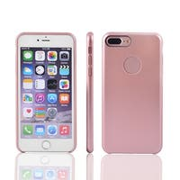 PC Back Bumper Shatter-resistant Protective Spray Case Cover for iPhone 7 Plus