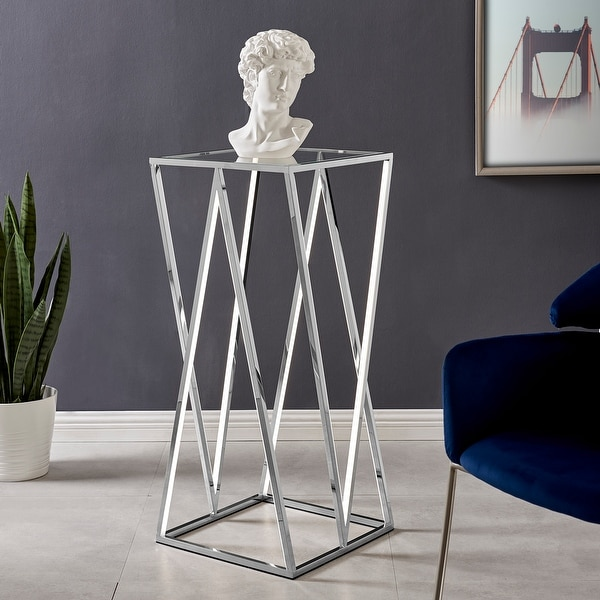 Finesse Decor // LED Side Table // Square. Opens flyout.