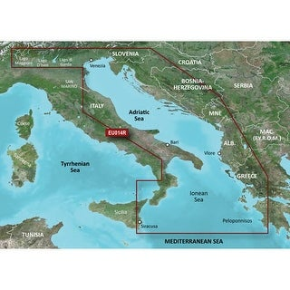 Garmin VEU014R - Italy, Adriatic Sea SD card Navigational Software