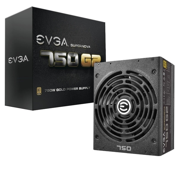 Evga Supernova 750 G2, 80+ Gold 750W, Fully Modular, Evga Eco Mode