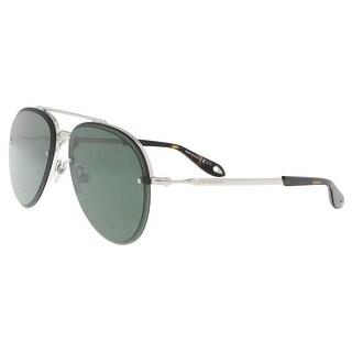 Givenchy GV7075S 0010 Palladium Aviator Sunglasses - 62-13-145