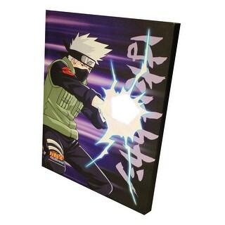 "Naruto Shippuden Rasengan 20""x16"" Light-Up Canvas Wall Art - Multi"