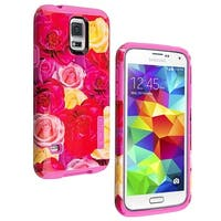 Incipio DualPro Shock-absorbing Case for Samsung Galaxy S5 - Roses/Floral