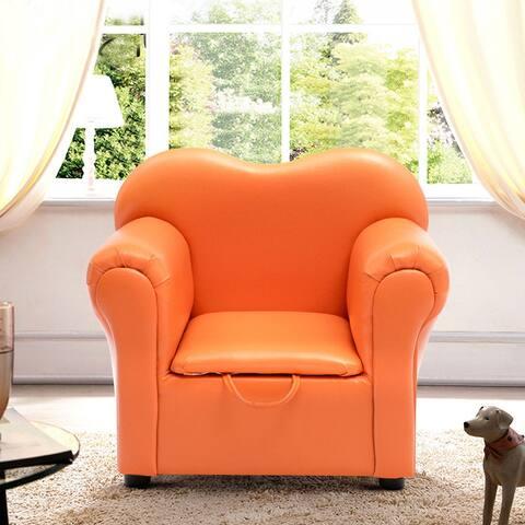 Costway Kids Sofa Armrest Chair Couch Children Birthday Gift Furniture