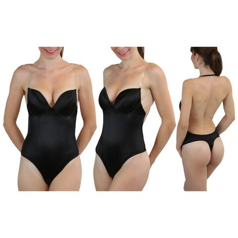 Women's Multiway Thong Backless Body Shaper