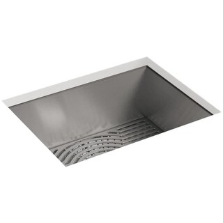 "Sterling 20023-PC Ludington 24"" Single Basin Undermount Stainless Steel Kitchen Sink with SilentShield"
