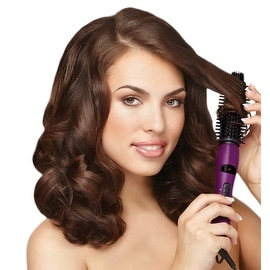 The Instyler Purple Ionic Styler 4-in-1 Styling Tool