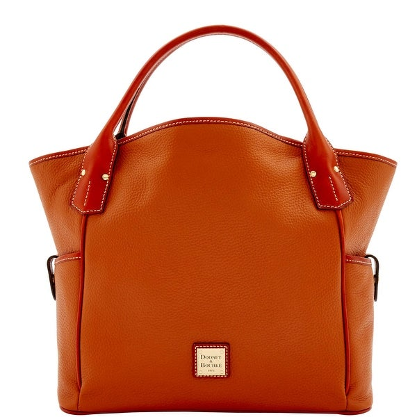 Dooney & Bourke Pebble Grain Kristen Tote (Introduced by Dooney & Bourke at $348 in Sep 2016) - Caramel