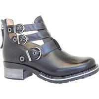 Dromedaris Women's Kelsy Boot Black Leather