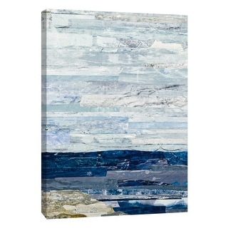 """PTM Images 9-108528  PTM Canvas Collection 10"""" x 8"""" - """"Linear Progression 1"""" Giclee Mountains Art Print on Canvas"""