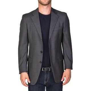 Prada Men's Wool Three-Button Sportscoat Suit Jacket Grey - 38r