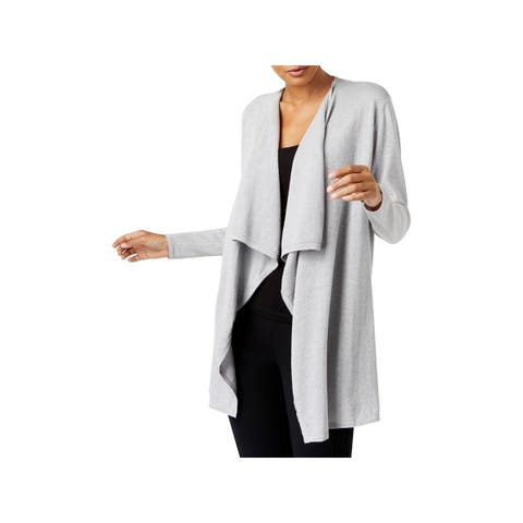 MICHAEL Michael Kors Womens Cardigan Sweater Draped Special Occasion