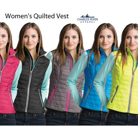 Women's Quilted Ultra Lightweight Water Resistant Vest