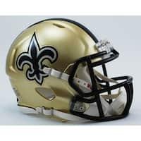 New Orleans Saints Riddell Speed Mini Football Helmet