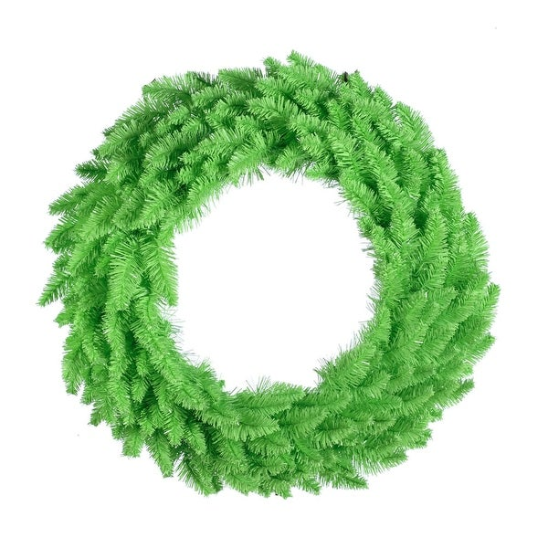 "36"" Lime Wreath DuraL LED 100Lime 320T"