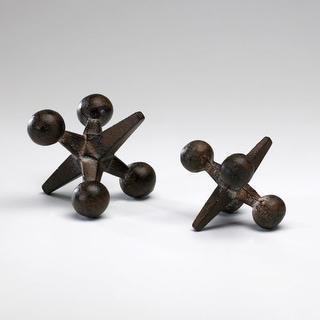 "Cyan Design 2744 3.25"" Small Antiqued Rust Jack"