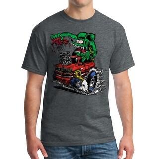 "Rat Fink Heart of Truck Ed ""Big Daddy"" Men's Dark Heather T-shirt"