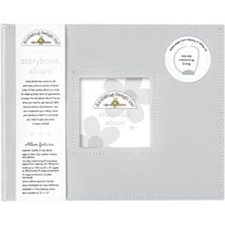 "Gray - Storybook Album 8""X8"""