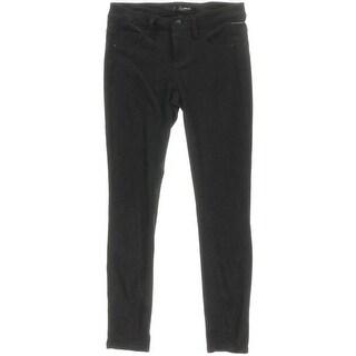 Aqua Womens Pants Faux Suede 5-Pocket