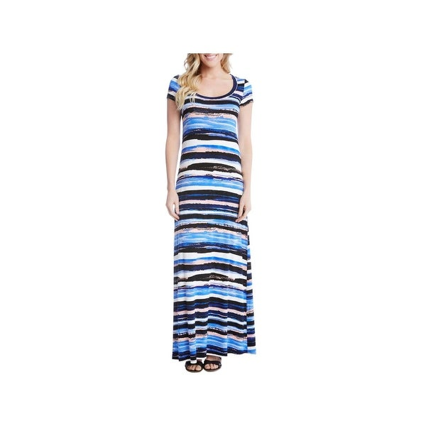 f1fdaefd7e Shop Karen Kane Womens Rosewater Casual Dress Maxi Striped - xL - Free  Shipping On Orders Over  45 - Overstock - 22582067